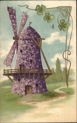 Windmill Made of Violets