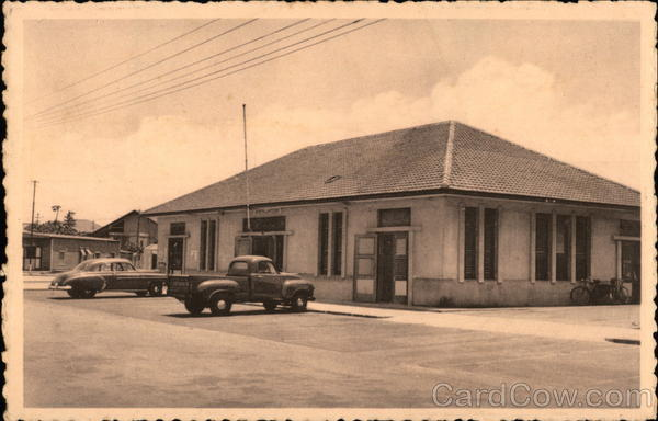 Post Office San Nicolas Aruba Caribbean Islands