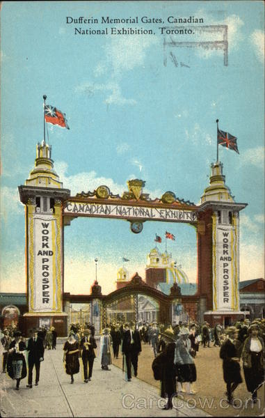 Canadian National Exhibition - Dufferin Memorial Gates Toronto Canada