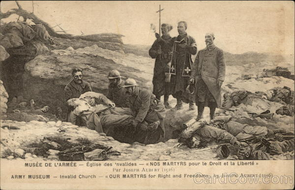 Our Martyrs for Right and Freedom by Joseph Aubert (1916) Paris France