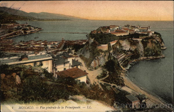 General View of the Principality Monaco