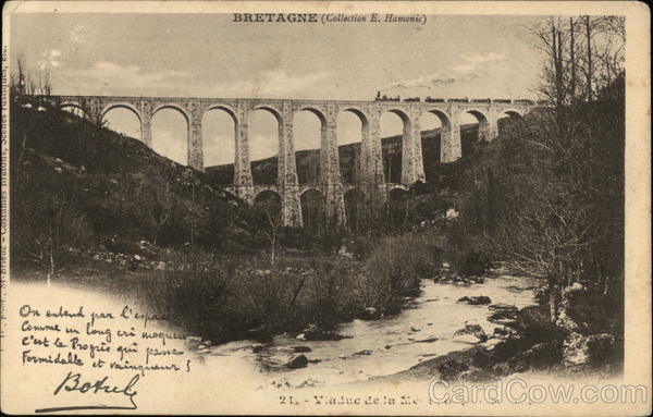 Viaduct - Brittany France