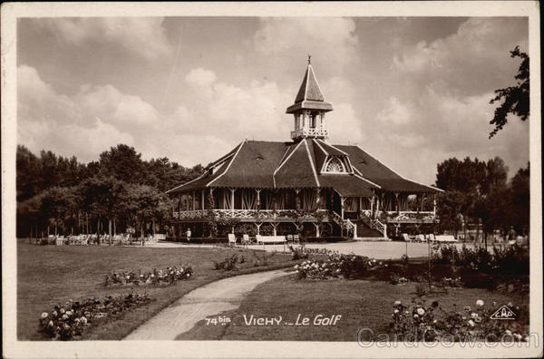 Le Golf Vichy France