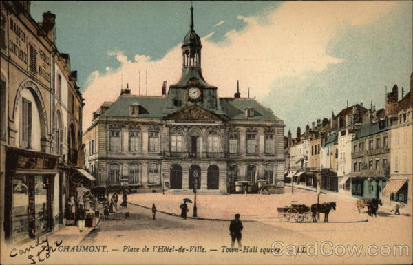 Town-Hall Square Chaumont France