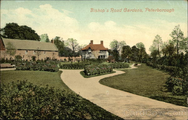 Bishop's Road Gardens Peterborough England Lincolnshire