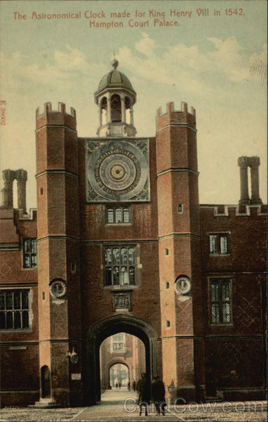 Hampton Court Palace - Astronomical Clock London England