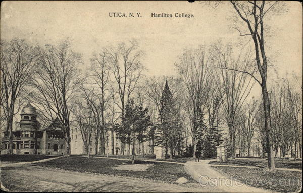 Hamilton College Utica New York