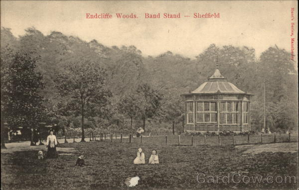 Endcliffe Woods - Band Stand Sheffield England Yorkshire