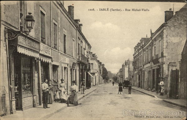 Rue Michel-Vielle Sable France