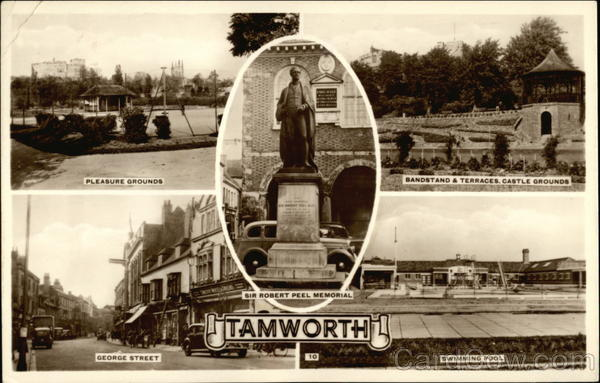 Views of Tamworth England