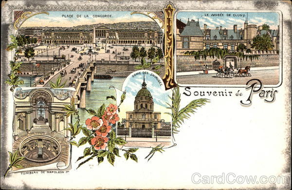 Souvenir de Paris France