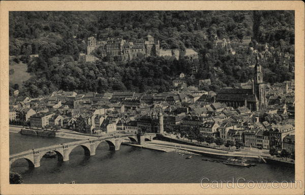 View of City Heidelberg Germany