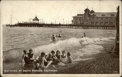 Bathing at South Parade