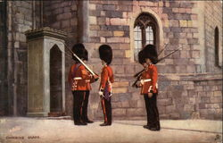 Changing Guard Postcard