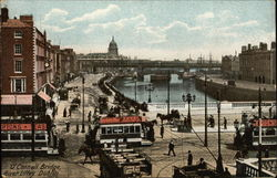 O'Connell Bridge and River Liffey