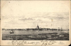 The Town of Stege (1754)