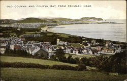 Old Colwyn and Colwyn Bay from Penmaen Head