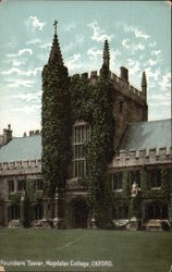 Magdalen College - Founders Tower Postcard
