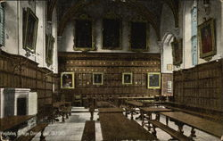 Magdalen College Dining Hall, Oxford Postcard