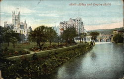 View of Abbey and Empire Hotel