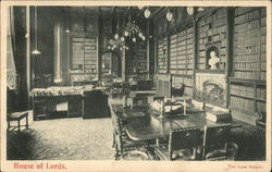 House of Lords - The Law Room Postcard
