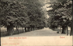 Broad Walk, Christ Church