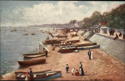 View of the Beach & Boats