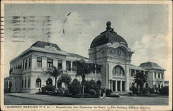 The Railway Offices Building Postcard