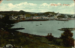 View Across the Bay Towards the Village, Co. Donegal