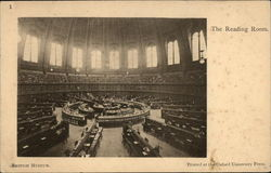 British Museum - The Reading Room Postcard