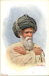 Middle eastern old man, Scheikh