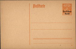 German Postcard - No Picture