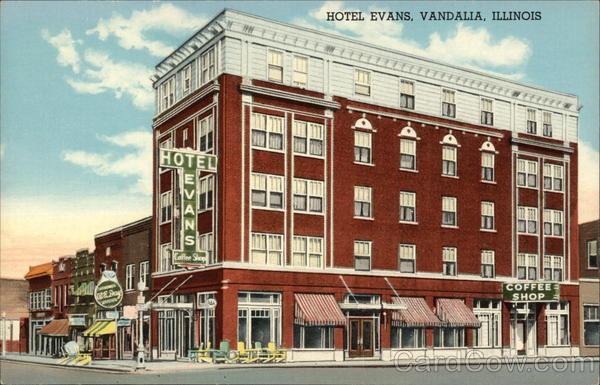 Hotel Evans Vandalia Illinois