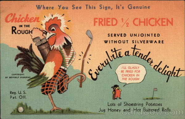 Chicken in the Rough Advertising
