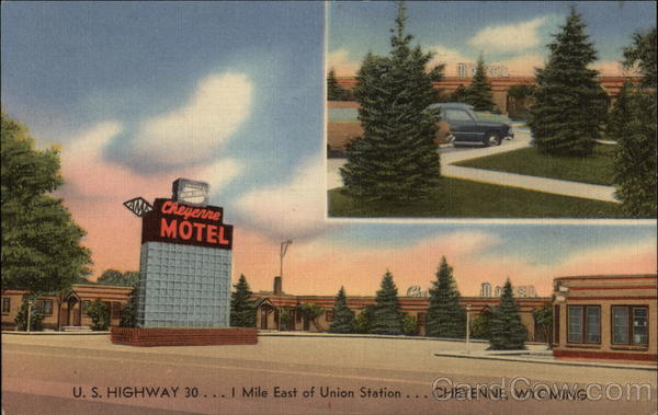 Cheyenne Motel Wyoming