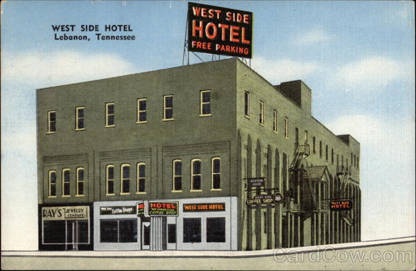 West Side Hotel Lebanon Tennessee