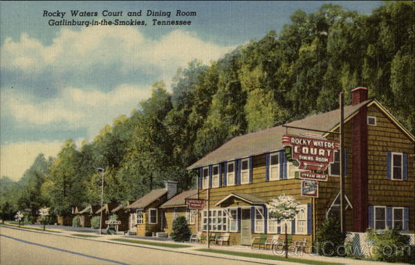 Rocky Waters Court and Dining Room Gatlinburg Tennessee