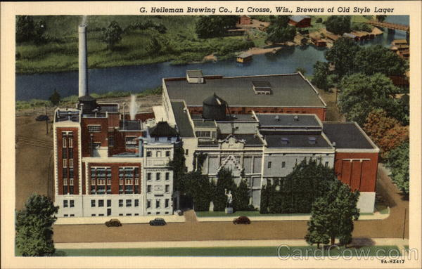 G. Helleman Brewing Co., Brewers of Old Style Lager La Crosse Wisconsin