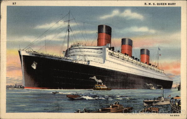 RMS Queen Mary Steamers