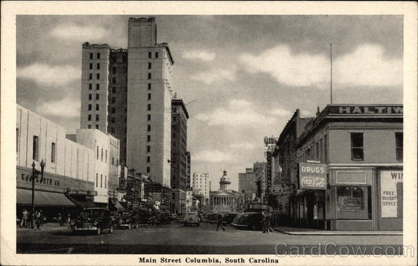 Main Street Columbia South Carolina