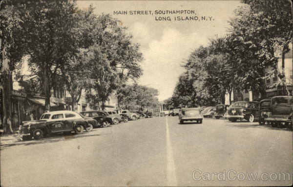 Main Street, Southampton Long Island New York