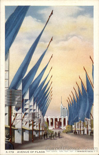 Avenue of Flags, A Century of Progress Exposition