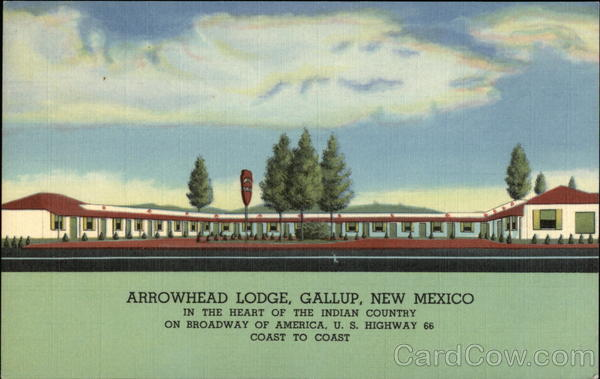 Arrowhead Lodge Gallup New Mexico