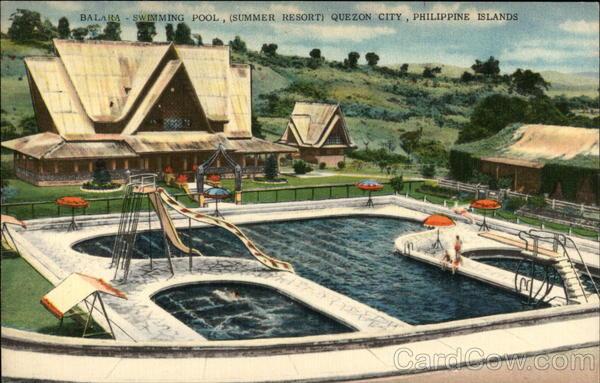 Balara Swimming Pool Summer Resort Quezon City Philippines Southeast Asia