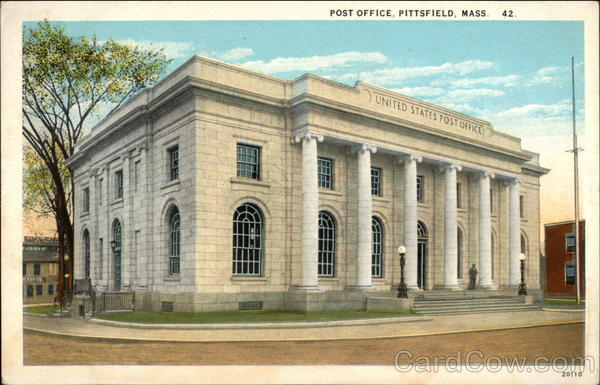 Post Office Pittsfield Massachusetts