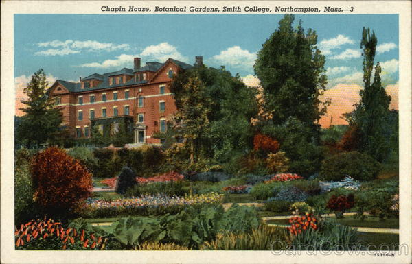 Chapin House, Botanical Gardens, Smith College Northampton Massachusetts