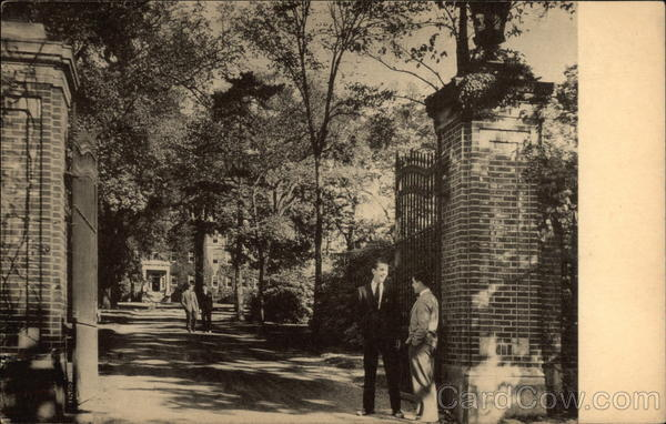Theodate Lang Memorial Gate and Drive, Moses Brown School Providence Rhode Island