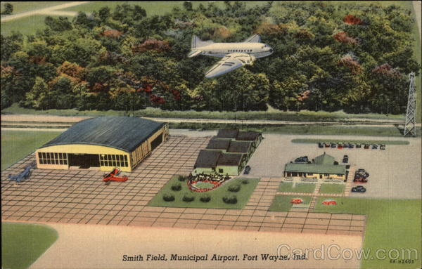 Smith Field, Municpial Airport Fort Wayne Indiana Airports