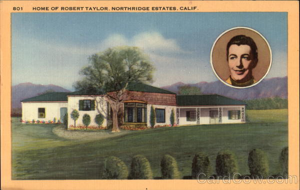 Home of Robert Taylor, Northridge Estates Fair Oaks California