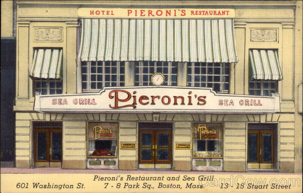 Pieroni's Restaurant and Sea Grill Boston Massachusetts